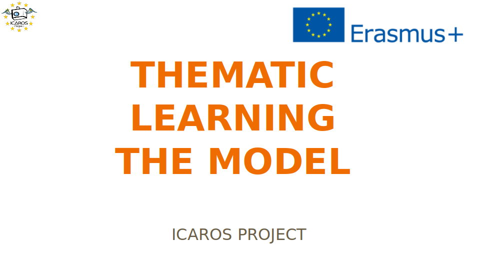 THEMATIC LEARNING IN ICAROS