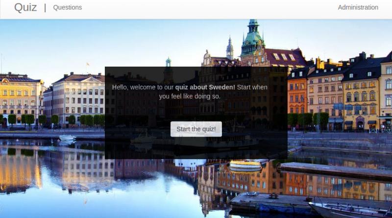 quiz of sweden